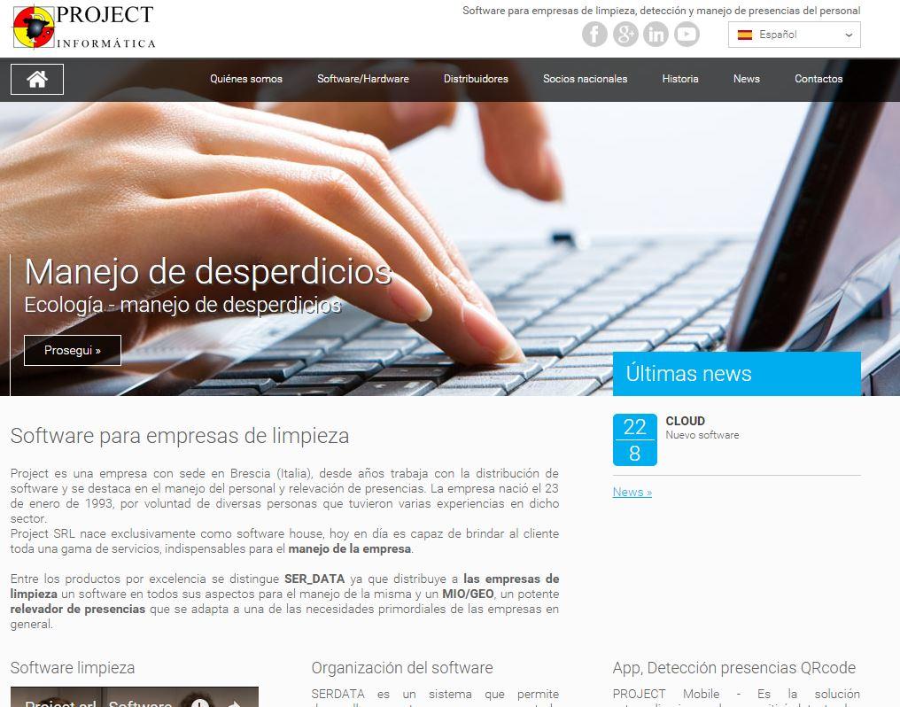 Software para empresas de limpieza novedad de project for Empresas de limpieza en pamplona