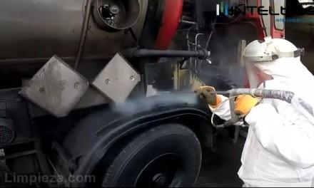 Intelblast demuestra el poder de su sistema de limpieza con hielo seco