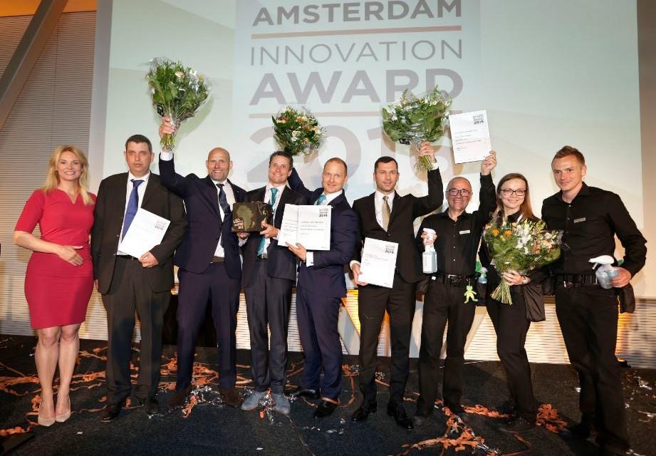 Sealed Air Diversey Care ganador del premio a la innovación ISSA Interclean 2016 con Suma Revoflow