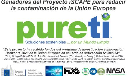 Pureti gana el proyecto más ambicioso de la Unión Europea para descontaminar ciudades