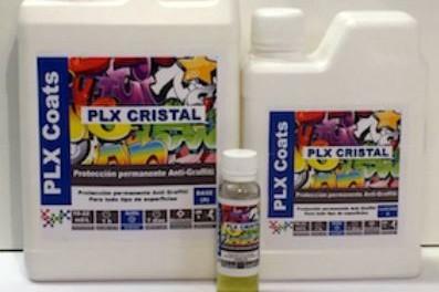 Video: nueva demo de PLX CRISTAL antigraffiti.