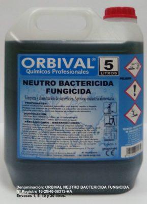 Producto bactericida fungicida