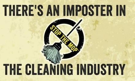 STOP THE MOP una campaña en contra de la fregona.