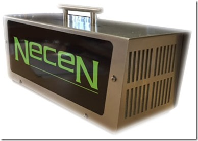 Cañon generador de Ozono Necen