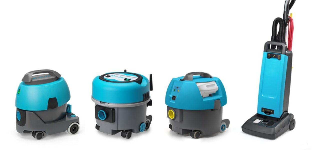 Hefter Cleantech presentó la gama I-vac de aspiradores a baterías