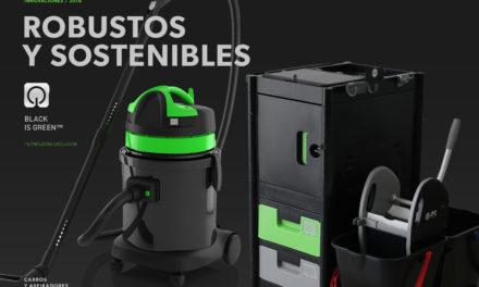 IPC introduce la innovación Black is Green en carros Brix y Aspiradores
