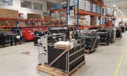 Sistemas Ionic dispone del mayor stock de recambios y máquinas de limpieza en altura.