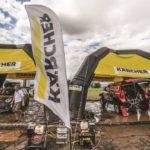 Estación de lavado en el Dakar 2017