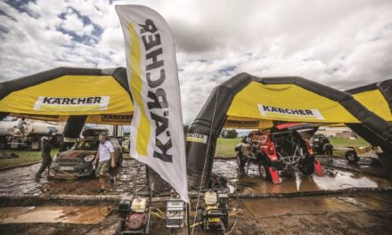 Karcher limpia el Rally Dakar 2017