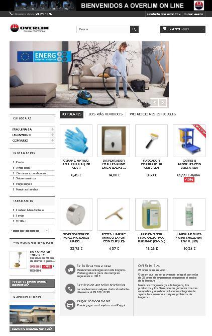 Tienda Overlim online