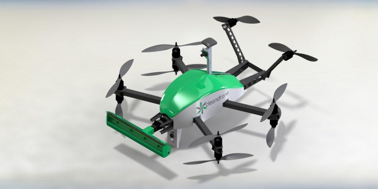 Limpieza con drones, realidad o ficción.