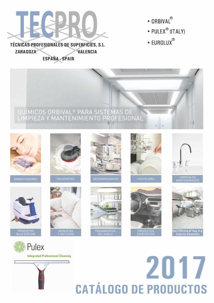 Catálogo Tecpro 2017