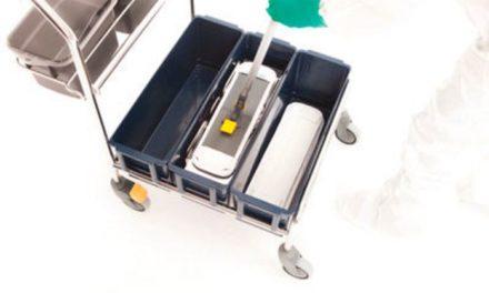 Sistema de fregado y desinfección contactless de Hydroflex