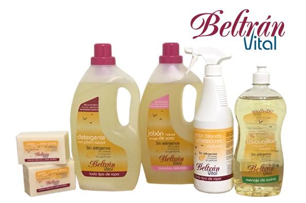 Productos de limpieza para afectados de Sensibilidad Química Múltiple