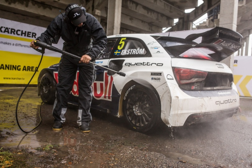 Kärcher proveedor del campeonato mundial de Rallycross 2017