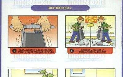 Material didáctico 13: Sistema de espuma seca