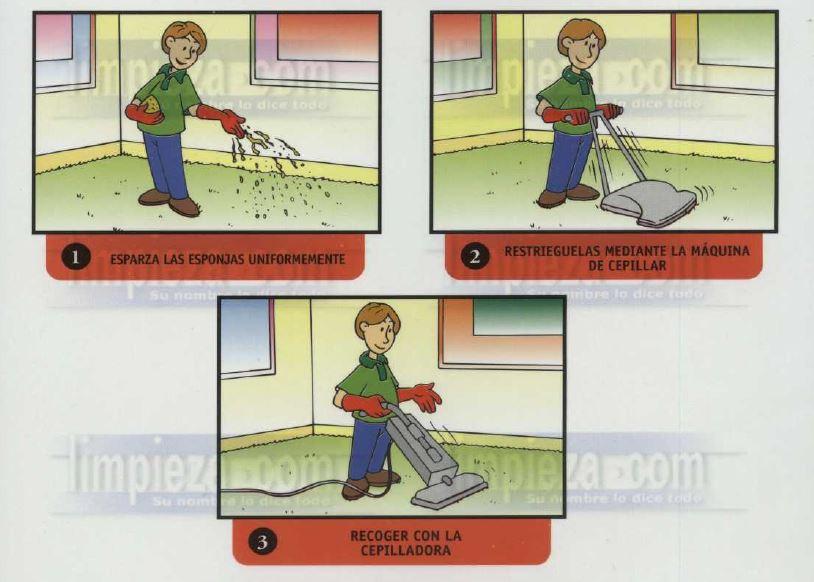 Material didáctico 17: Sistema de esponjas absorbentes
