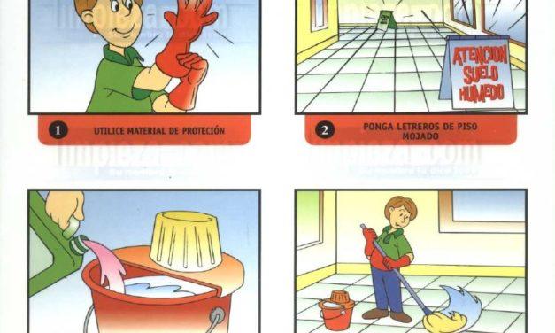 Material didáctico 18: Mantenimiento de suelos plásticos