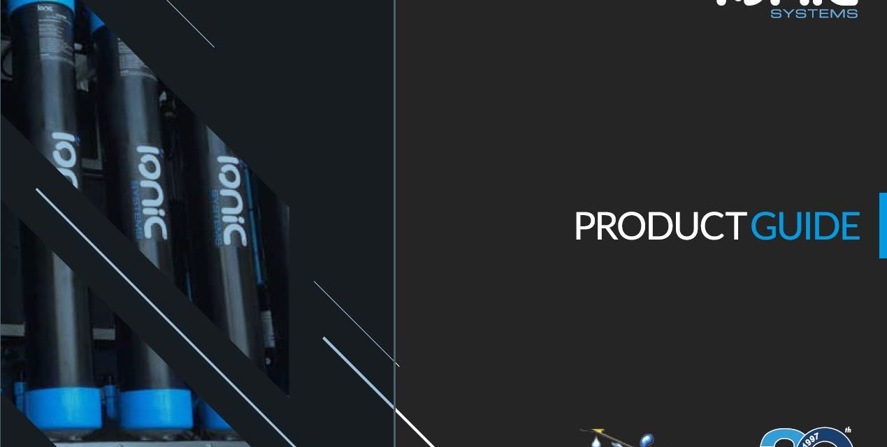 Nuevo catálogo y nuevos productos de Sistemas Ionic
