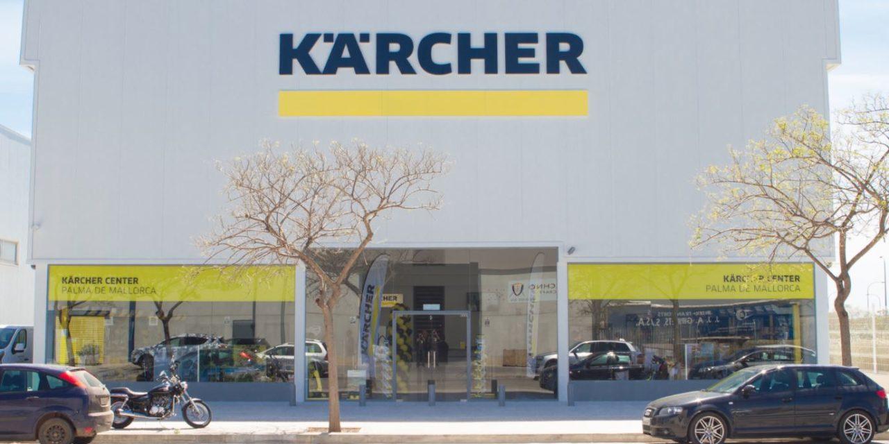 NUEVO KÄRCHER CENTER EN PALMA DE MALLORCA