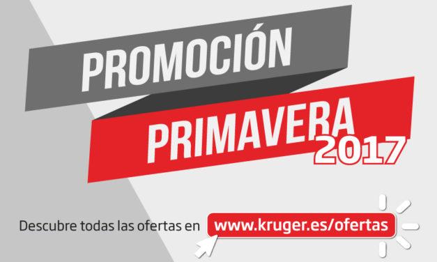 """KRÜGER LANZA LA """"PROMOCIÓN PRIMAVERA 2017"""""""