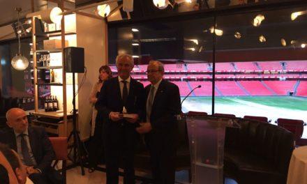Joaquin Borràs recibe el Premio Extraordinario en los Premios Nacionales de la Limpieza