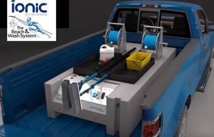 Ionic Portage el sistema desmontable para limpieza de cristales en altura.