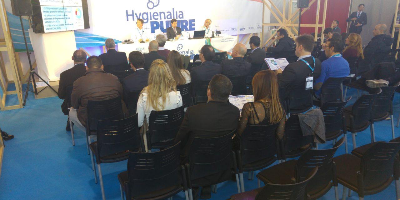 Hygienalia + Pulire 2017. Audio estudio del sector de la limpieza y evolución del mercado en España y Europa