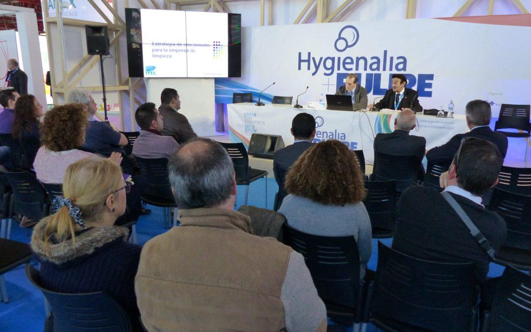 """Hygienalia + Pulire 2017. Ponencia """"El futuro de la limpieza pasa por la innovación."""