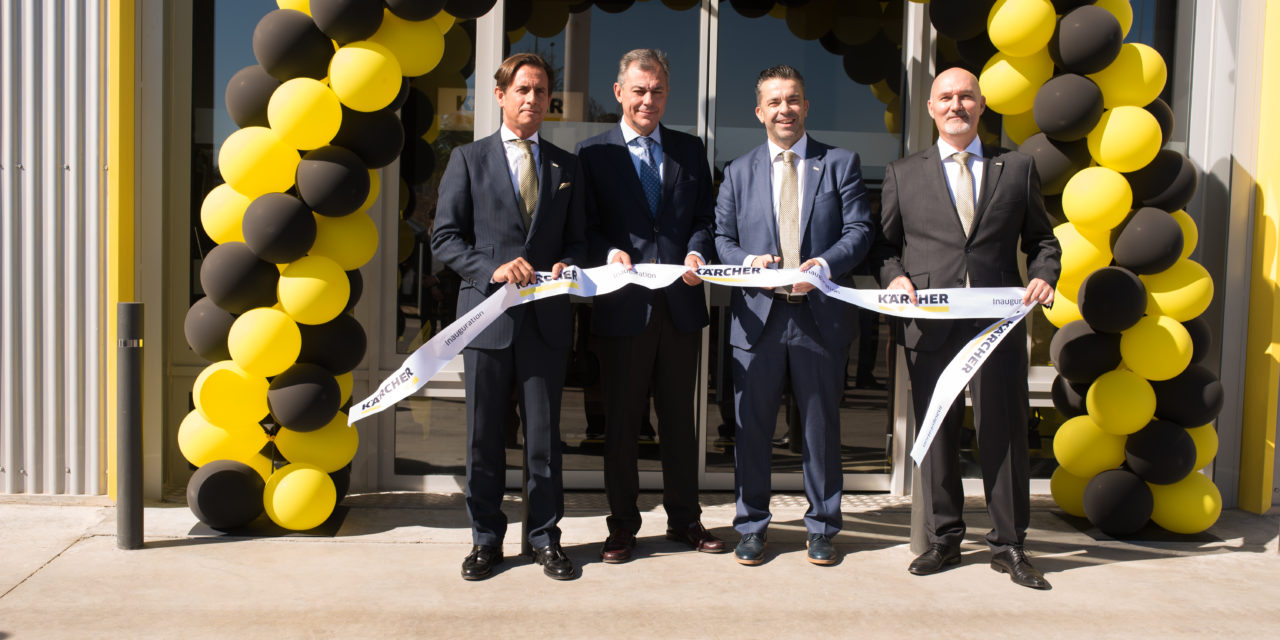 Kärcher abre las puertas de su Kärcher Center en Sevilla