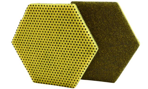 3M crea una nueva generación de fibras de doble cara hexagonal para limpieza