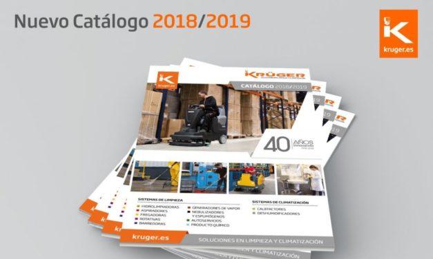 Ya está disponible el nuevo catálogo de Kruger 2018-2019