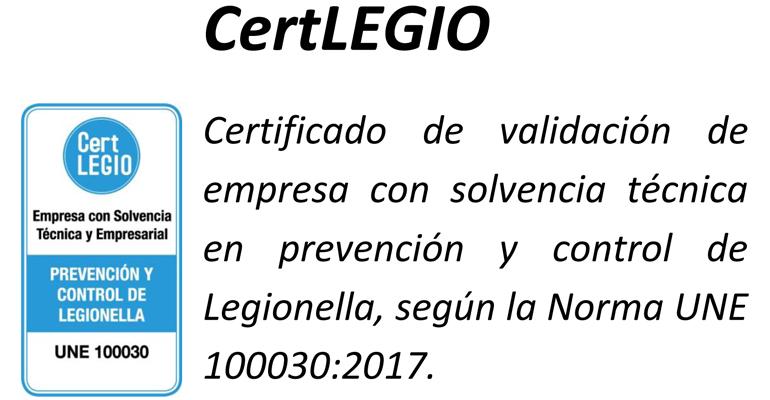 Proquimia ha obtenido el distintivo CertLEGIO