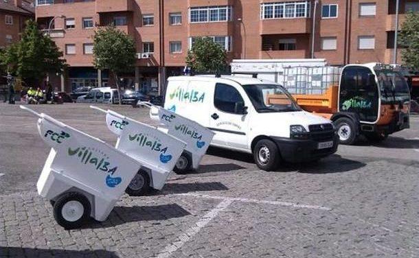 Collado Villalba: El PSOE denuncia que una vez más el concurso para la compra de maquinaria para la limpieza ha quedado desierto
