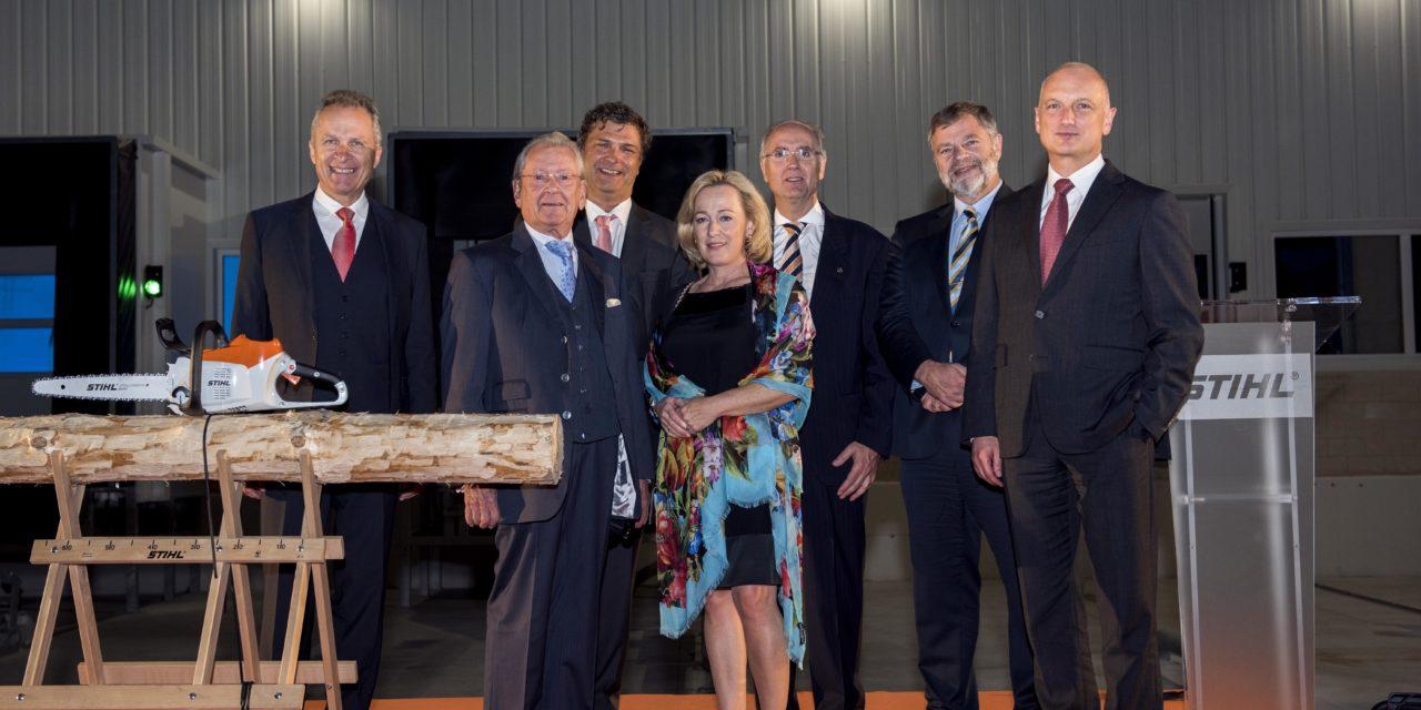 STIHL inaugura sus nuevas instalaciones y se convierte en punto de referencia en España y Portugal 29.000 m2 para afrontar los retos del futuro