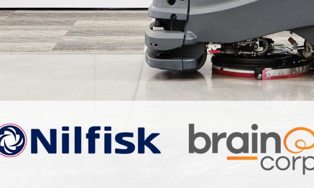 Nilfisk se asocia con Brain Corp para acelerar aún más el desarrollo de soluciones de limpieza autónomas.