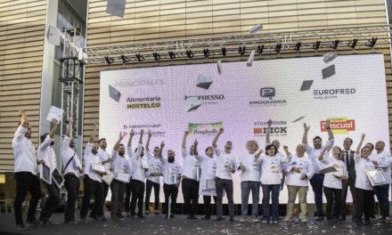 Proquimia reafirma su compromiso con la hostelería en la 2º semifinal del VIII Concurso Cocinero del Año y IV Concurso Camarero del Año
