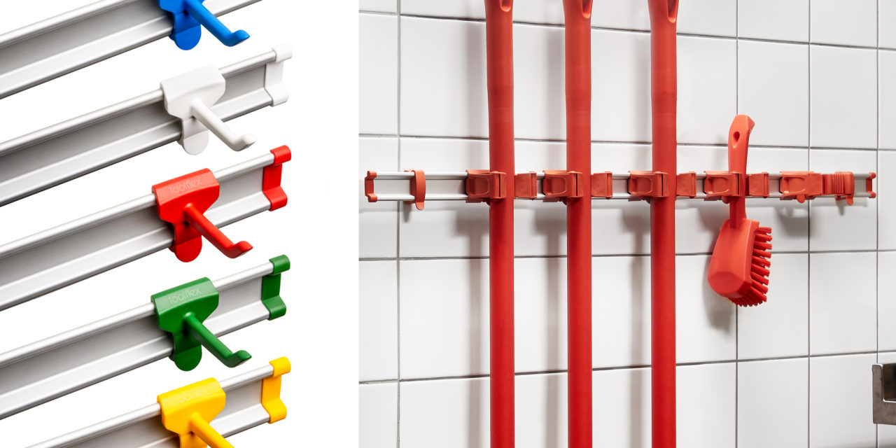 Multicolgador de útiles de limpieza Toolflex ONE by Ressol