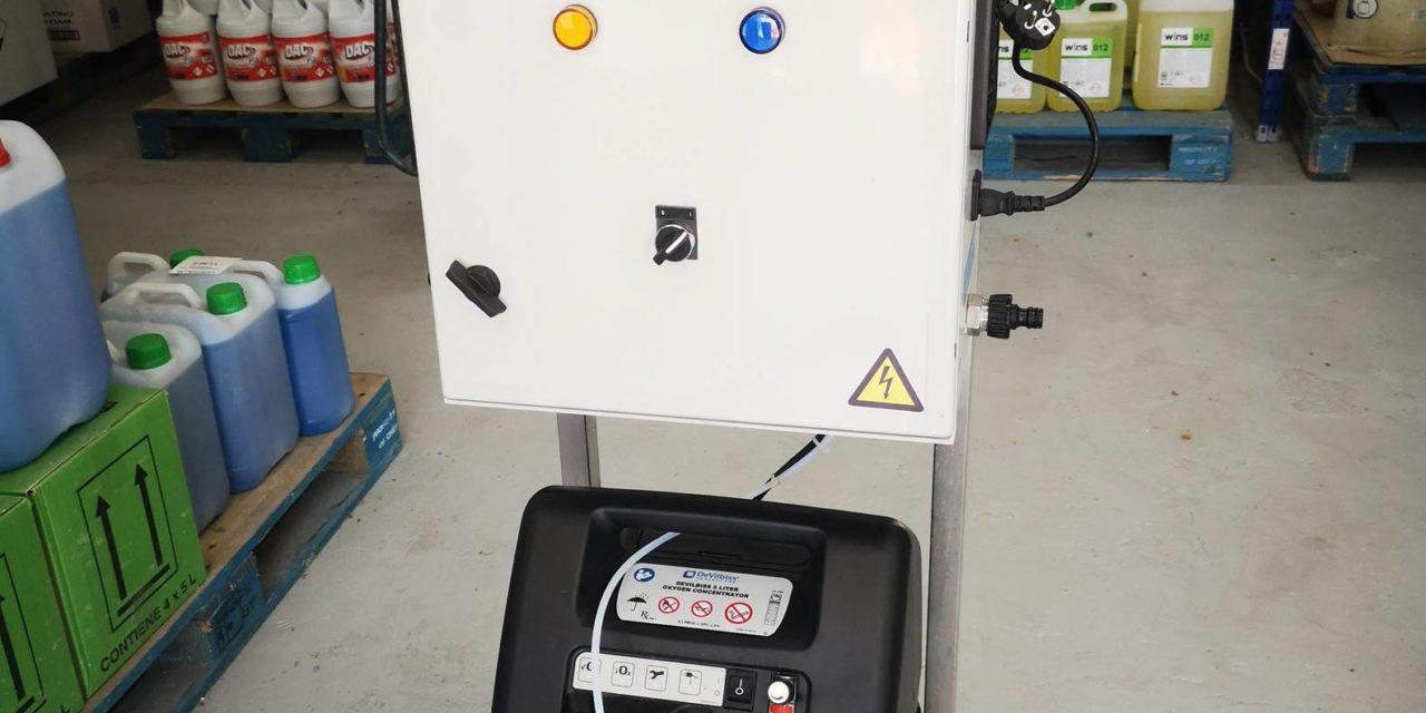 Necen presenta su nuevo generador de Ozono portátil