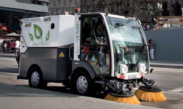 D.ZERO2 de Dulevo, nueva barredora 100% eléctrica con hasta 10 horas de autonomía