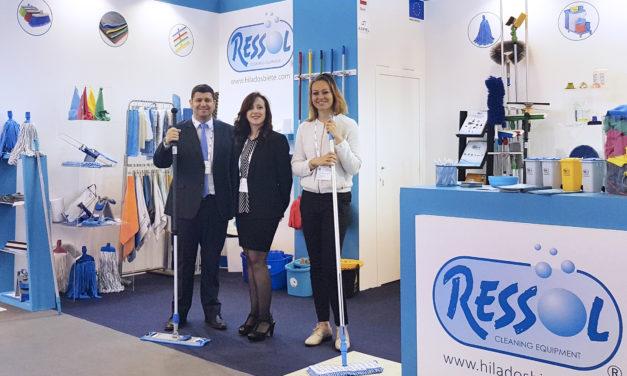 """Hilados Biete """"RESSOL"""" asistirá a CLEANTEK SHOW (Portugal) e INTERCLEAN ÁMSTERDAM (Holanda)"""