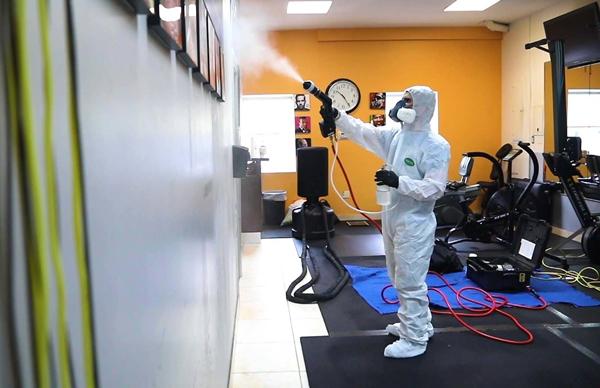 Protocolo para limpiar e higienizar el gimnasio antes de su reapertura tras el coronavirus