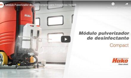 Módulo Pulverizador de Desinfectante para Fregadoras Hako®