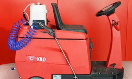 Kilo sanitizing de RCM, seca y desinfecta en una sola pasada !