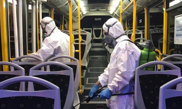 Protocolo de Limpieza y desinfección oficial para el sector transporte por carretera.