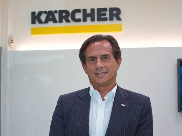 """Luis Hereza CEO de Karcher España: """"Las búsquedas en internet sobre desinfección y limpieza han aumentado un 2.500%"""""""