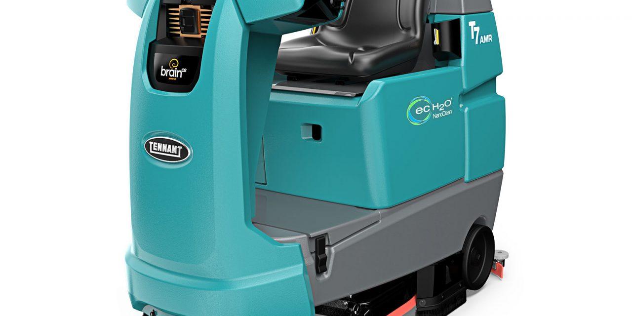 Tennant presenta la fregadora robótica T7AMR en los Open Days