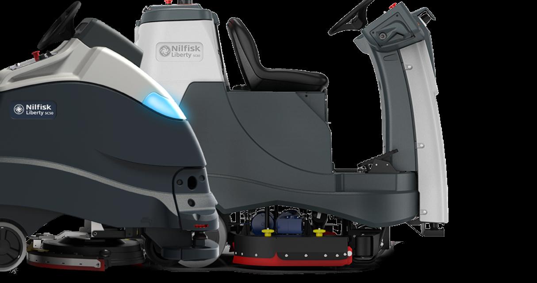 Nilfisk responde a la creciente demanda de limpieza autónoma, lanzando en el mercado la máquina autónoma más grande e introduciendo una solución avanzada de luz UV-C