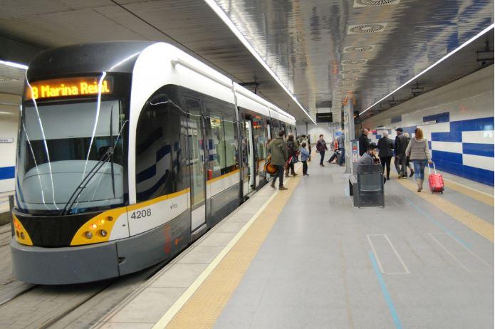 La Generalitat reforzará la limpieza y desinfección en Metrovalencia y TRAM