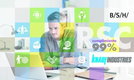 La multinacional BSH reconoce el compromiso de Knauf Industries con la sostenibilidad, el entorno y el bienestar laboral